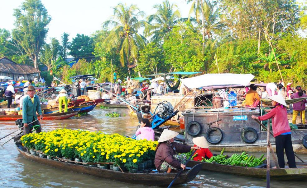 Cai Be Floating Market–Tan Phong Island–Full Day Tour